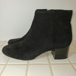 SAM EDELMAN EDITH Suede Leather Ankle Boots 10 EUC